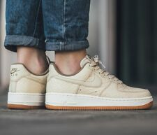 Nike AF1 Air Force One 07 Off White Sail Leather Trainers Men Women Shoe Size 7