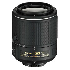 Nikon AF-S DX NIKKOR 55-200MM f/4-5.6G ED VR II Lens Brand New (White Box)