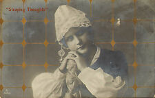 postcard - straying thoughts ! aristophot 1909