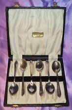 Vintage Collectable Estate Arthur Price EPNS Spoon Box Set Silver Plate England