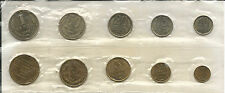 RUSSIA,  1968 LENINGRAD MINT SET OF NINE (9) PLUS MINT MEDALLION