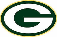 (Pair of 2) Green Bay Packers Football Decal Sticker CornHole Board (2) 12x8