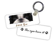 Shih Tzu # 3 The Eyes Have It Key Chain