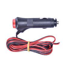 3m 12V 24V Male Car Cigarette Lighter Socket Plug Connector On Off Switch HL
