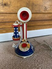 1973 American Telecommunications Corp Patriotic Candlestick Phone Telephone USA