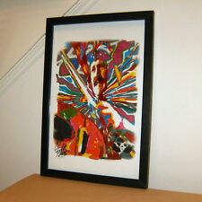 John Bonham Led Zeppelin Moby Dick Drums Hard Rock Print Poster Wall Art 11x17