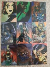 Razor 1996 Series 2 - Metal And Flesh Trading Cards (9)