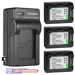 Kastar Battery Wall Charger for Samsung IA-BP210E Samsung SMX-F40RN SMX-F40SN