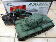 Taigen 1/16  2.4GHz RC Russian WW II KV-1 BB Tank Metal Professional Edition