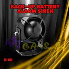 DEI 515R CAR ALARM SECURITY SIREN W/ BACK UP BATTERY ALARM SIREN VIPER CLIFFORD