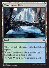 4X Thornwood Falls - NM - Khans of Tarkir MTG Magic Cards Land Common