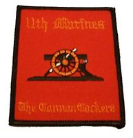 USMC 11TH MARINES MARINE REGIMENT THE CANNON COCKERS ARTILLERY PATCH