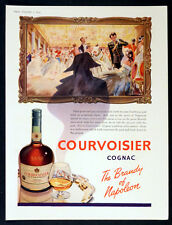 COURVOISIER COGNAC 1954 Brandy of Napoleon BRITISH ADVERT