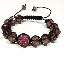 Shamballa Pink Bracelet