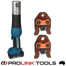 Zupper EZ-1528 Battery Pressing Tool Gas Pex Gastite Pexal Stesso Pex Water Pex