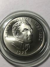 1973 Republic of Panama 20 Balboa Silver Coin w/ Box