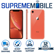 Apple iPhone XR Coral 64gb ? ohne SIM-Entsperrt iOS Smartphone-a1984
