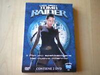 Lara Croft Tomb Raider Box 2 DVD azione Angelina Jolie lingua italiano inglese