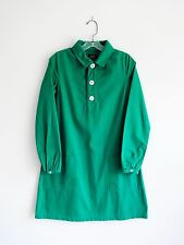 A.P.C. APC Jade Green Cotton Shift Dress size XS Extra Small
