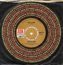 JERICHO JONES time is now*freedom 1971 UK A&M PROG ROCK 45