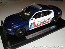 Custom 1/18th scale Arlington, Texas Police 2008 Dodge Charger (Welly car)