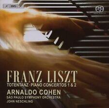 Liszt-Pianoforte Conc .1 u.2/Totentanz-Sao Paulo così, Cohen, Neschling SACD