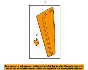 Cadillac GM OEM 13-16 SRX Side Fender Turn Signal Light-Repeater Right 22966563