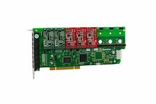 OpenVox A800P23 8 Port Analog PCI Base Card + 2 FXS + 3 FXO, Ethernet (RJ45)