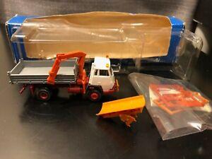 Roco #1651 Tipper w/ Loading Crane & Snow Plow - 1:87 - Die Cast Plastic Model!!