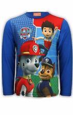 Niño Patrulla Canina Tapa Larga/Top Manga Corta camiseta Nick Jr Chase Marshall