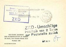 Gebiet DDR Briefmarken aus Deutschland (ab 1945) mit Bedarfsbrief für Post, Kommunikation