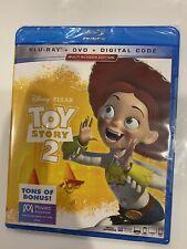 Disney Pixar Toy Story 2( Blu-Ray + Dvd + Digital) Free Shipping Brad New