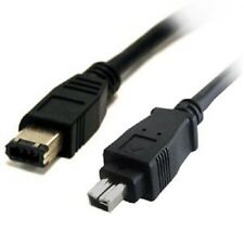 15' (4.5 meter) IEEE1394 6P Male - 4P Male Firewire cable