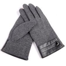 2021 Autumn Winter Cashmere Touch Screen Riding Velvet Driving Cotton Gloves