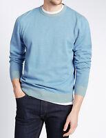 Assorted M&S Men Pure Cotton & Cashmilon Jumpers Sizes S - XL