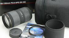 Para Nikon AF, Sigma 50-150 f2.8 apo ex DC HSM, bien