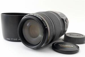 CANON EF 75-300mm f/4-5.6 IS USM Lens [Exc w/ET-64II Hood Japan [835]