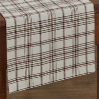 """Park Designs ORCHARD 13""""x36"""" Table Runner - Ivory, Dark Red, Green, Light Taupe"""
