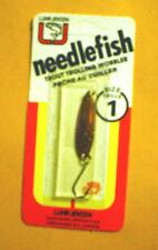 *Vintage* Luhr Jensen Needlefish 1051-001-003 Sz 1 Copper