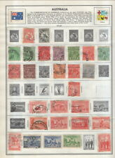 Australia On Harris Album Pages-1913-1973!