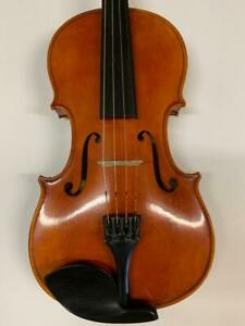 """Antique Old Viola 16"""" Benedikt Lang Germany with Bow & New Venetian Oblong Case"""