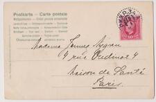 "Suecia- Old tarjeta postal STOCKHOLM USADOS MATASELLADOS "" PKXP34.A"" destination"