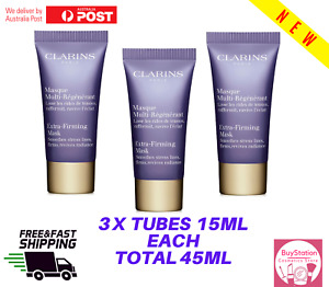 CLARINS Extra Firming Mask 15ml New travel size x3 Tubes
