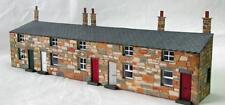 Ancorton Terraced Cottages (Half-Relief) - Laser Cut Wood Kit OO Gauge - 95865