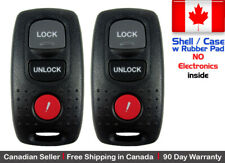 2x Replacement Keyless Entry Remote Key Fob For 2003-2006 MAZDA 3 6 Shell / Case