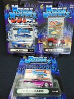 MUSCLE MACHINES DIE CAST METAL 1:64 SCALE CARS N.I.P *8*