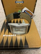 Fossil Japan Movement Mens Watch - Black Band - New In Box