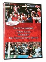 New 2 DVD Set: FA Cup 2004 2005 Great Goals, Highlights & Complete Final Match
