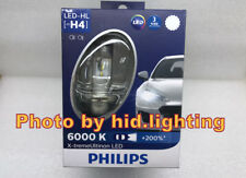 Philips H4 XtremeUltinon 6000k LED +200% 23W Headlight bulb White light 12953