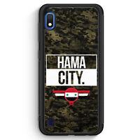 Hama City Camouflage Syrien Silikon Hülle für Samsung Galaxy A10 Motiv Design...